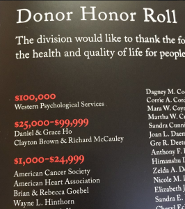 2014 Donor Roll