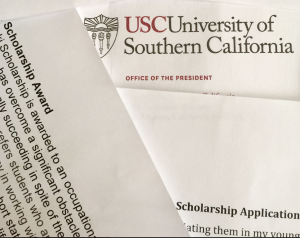 USC Scholarship Applications